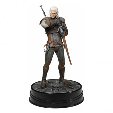 THE WITCHER 3 WILD HUNT - GERALT HEART OF STONE STATUE FIGURE