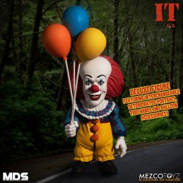 MEZCO DESIGNER SERIES IT 1990 PENNYWISE ACTION FIGURE MEZCO TOYS