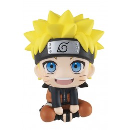 LOOK UP NARUTO UZUMAKI MINI FIGURE MEGAHOUSE