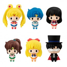 MEGAHOUSE SAILOR MOON CHOKORIN MASCOTS SET FIGURES