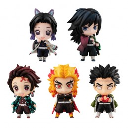 MEGAHOUSE DEMON SLAYER TANJIRO AND THE HASHIRA MASCOTS SET A FIGURES