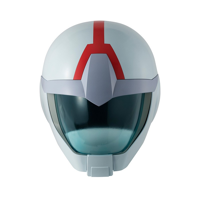 MEGAHOUSE GUNDAM EARTH FEDERATION ARMY FULL SCALE HELMET CASCO 1/1