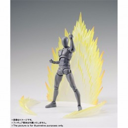 TAMASHII EFFECT ENERGY AURA YELLOW VERSION FIGUARTS BANDAI