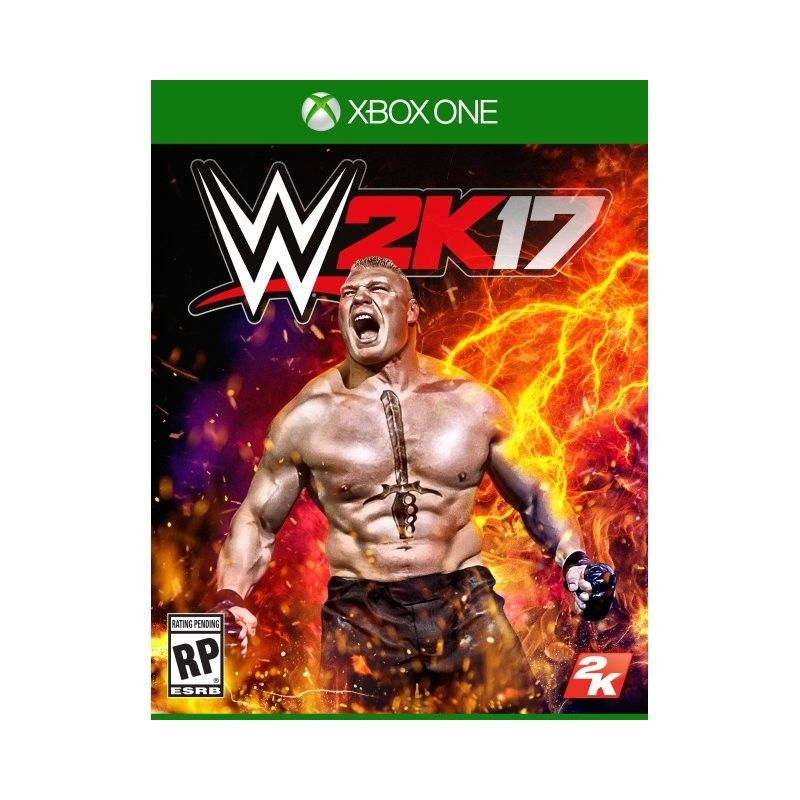WWE 2K17 XBOX ONE NUOVO ITALIANO