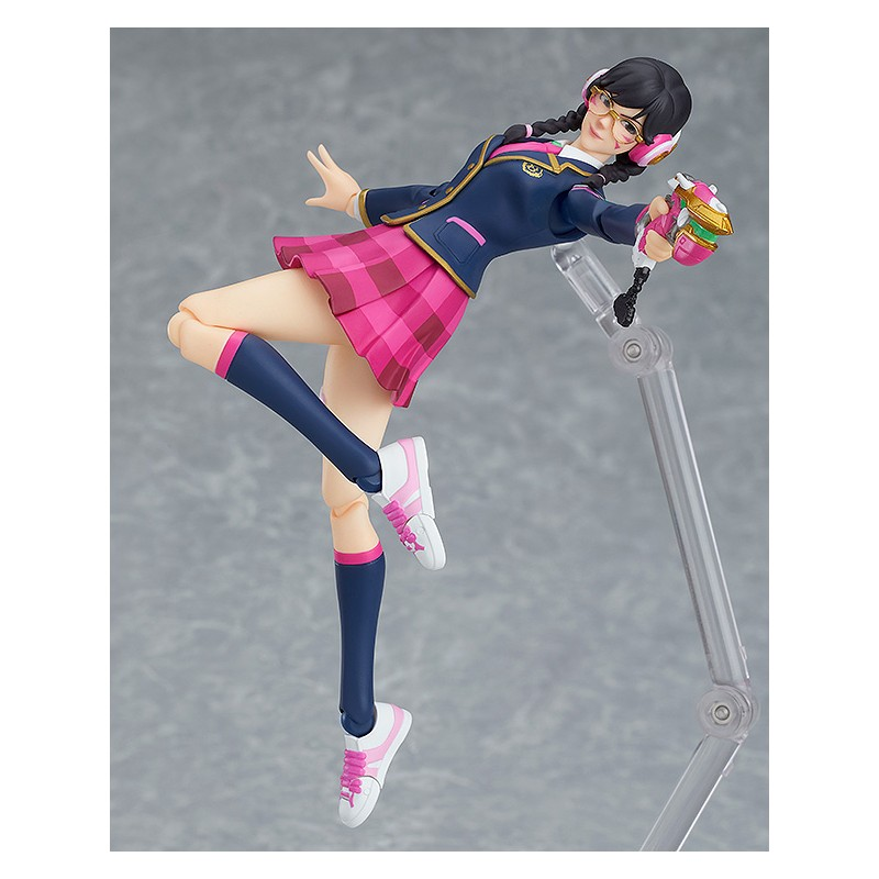 GOOD SMILE COMPANY OVERWATCH D.VA ACADEMY SKIN FIGMA ACTION FIGURE