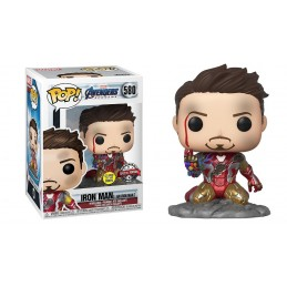 FUNKO POP! AVENGERS ENDGAME I AM IRON MAN BOBBLE HEAD FIGURE FUNKO