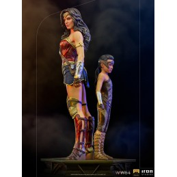 WW84 WONDER WOMAN AND YOUNG DIANA DLX ART SCALE 1/10 STATUA FIGURE IRON STUDIOS