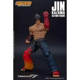 STORM COLLECTIBLES TEKKEN 7 JIN KAZAMA 1/12 ACTION FIGURE