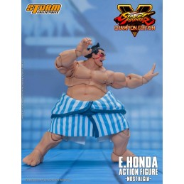 STREET FIGHTER V E.HONDA 1/12 ACTION FIGURE STORM COLLECTIBLES