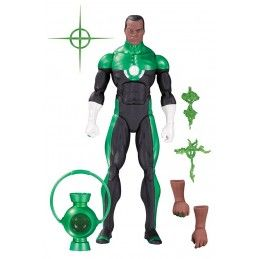 DC COMICS ICONS - GREEN LANTERN JOHN STEWART ACTION FIGURE DC COLLECTIBLES