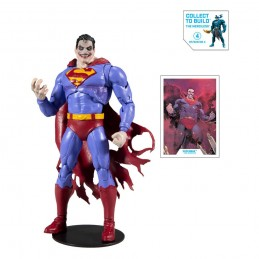 DC MULTIVERSE DARK KNIGHTS METAL SUPERMAN THE INFECTED ACTION FIGURE MC FARLANE