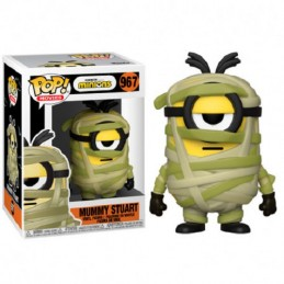 FUNKO POP! MINIONS MUMMY STUART BOBBLE HEAD FIGURE FUNKO
