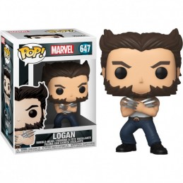 FUNKO POP! MARVEL LOGAN BOBBLE HEAD FIGURE FUNKO