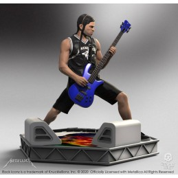 KNUCKLEBONZ ROCK ICONZ METALLICA ROBERT TRUJILLO STATUE FIGURE