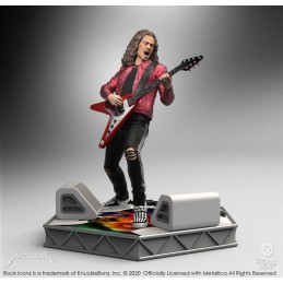 KNUCKLEBONZ ROCK ICONZ METALLICA KIRK HAMMETT STATUE FIGURE