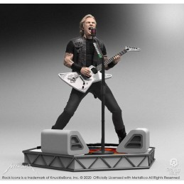 KNUCKLEBONZ ROCK ICONZ METALLICA JAMES HETFIELD STATUE FIGURE