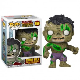 FUNKO POP! MARVEL ZOMBIE HULK BOBBLE HEAD FIGURE FUNKO