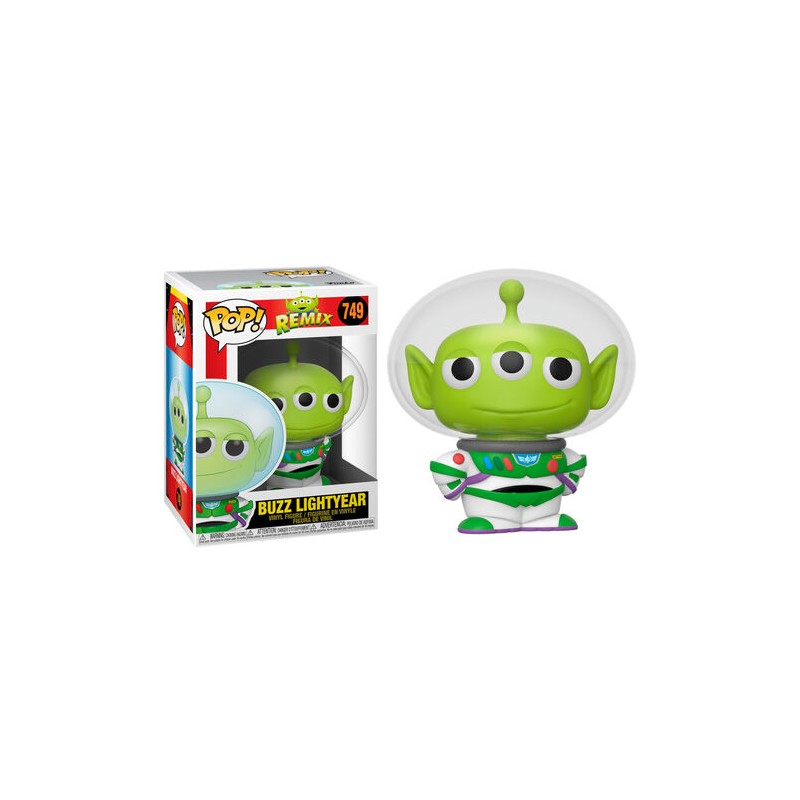 FUNKO POP! PIXAR REMIX BUZZ LIGHTYEAR BOBBLE HEAD KNOCKER FIGURE FUNKO