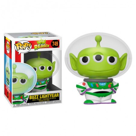 FUNKO POP! PIXAR REMIX BUZZ LIGHTYEAR BOBBLE HEAD KNOCKER FIGURE