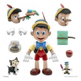 DISNEY ULTIMATES PINOCCHIO 18CM ACTION FIGURE SUPER7