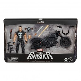 MARVEL LEGENDS THE PUNISHER WITH VEHICLE ACTION FIGURE HASBRO