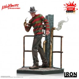 IRON STUDIOS NIGHTMARE ON ELM'S STREET FREDDY KRUEGER DLX STATUE