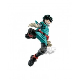 MY HERO ACADEMIA IZUKU MIDORIYA STATUE KING OF ARTIST FIGURE BANPRESTO