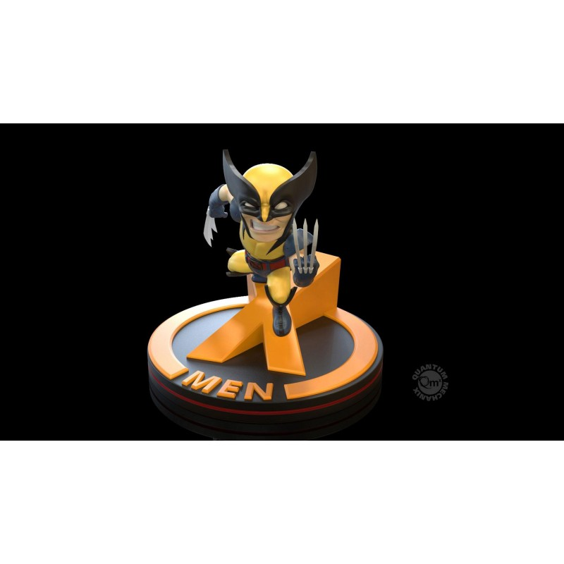 QUANTUM MECHANIX MARVEL Q-FIG WOLVERINE MINI FIGURE
