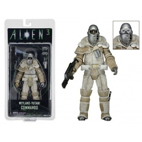 ALIENS SERIE 8 - WEYLAND-YUTANI COMMANDO ACTION FIGURE