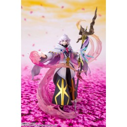 BANDAI FATE GRAND ORDER MERLIN FIGUARTS ZERO STATUE THE MAGE OF FLOWERS FIGURE