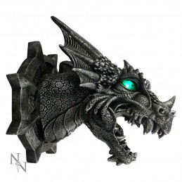 FEROX DRAGON HEAD WALL PLAQUE WITH LED NEMESIS NOW