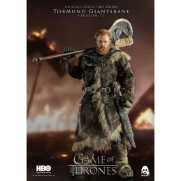 THREEZERO GAME OF THRONES TORMUND GIANTSBANE ACTION FIGURE
