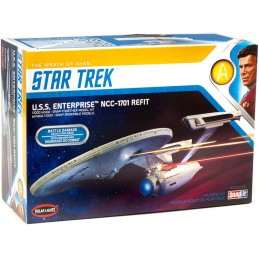 STAR TREK U.S.S. ENTERPRISE NCC-1701 REFIT 1/1000 MODEL KIT POLAR LIGHTS