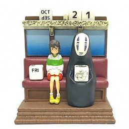 SPIRITED AWAY TRAIN PERPETUAL CALENDAR FIGURE BENELIC