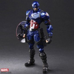 SQUARE ENIX CAPTAIN AMERICA BRING ARTS BY TETSUYA NOMURA ACTION FIGURE