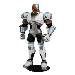 MC FARLANE DC MULTIVERSE ANIMATED CYBORG ACTION FIGURE