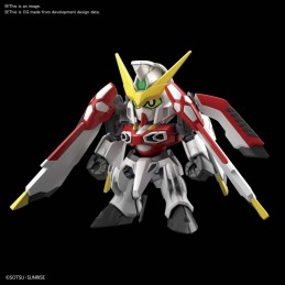 BANDAI SD CROSS SILHOUETTE GUNDAM PHOENIX MODEL KIT ACTION FIGURE