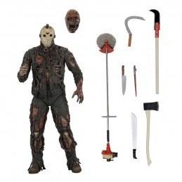 NECA FRIDAY THE 13TH PART 7 ULTIMATE JASON VOORHEES DELUXE ACTION FIGURE