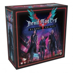 STEAMFORGED GAMES DEVIL MAY CRY V BLOODY PALACE - THE BOARD GAME ENGLISH