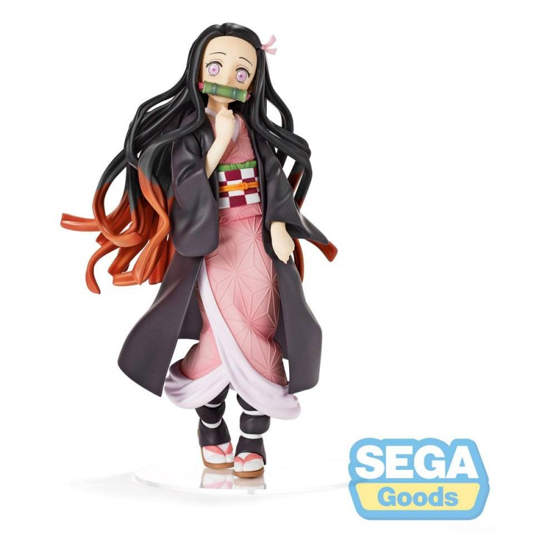 DEMON SLAYER NEZUKO KAMADO STATUE FIGURE SEGA GOODS