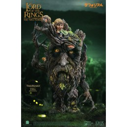 LORD OF THE RINGS TREEBEARD BARBALBERO DEFO REAL STATUA FIGURE STAR ACE