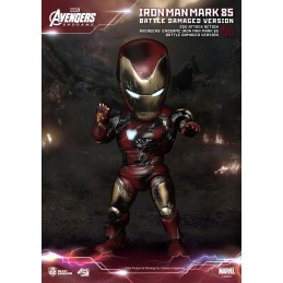 BEAST KINGDOM AVENGERS ENDGAME IRON MAN MARK 85 EGG ATTACK BATTLE DAMAGED ACTION FIGURE