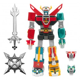 VOLTRON ULTIMATES DEFENDER OF THE UNIVERSE 18CM ACTION FIGURE SUPER7
