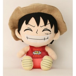 SAKAMI MERCHANDISE PUPAZZO PELUCHE ONE PIECE LUFFY 25CM PLUSH