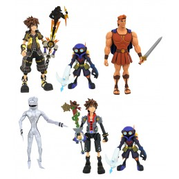 KINGDOM HEARTS 3 SELECT SERIE 2 SET ACTION FIGURE DIAMOND SELECT