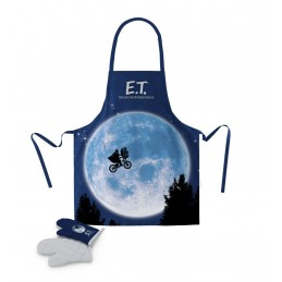 SD TOYS E.T. POSTER APRON AND OVEN MITT