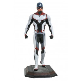 MARVEL GALLERY AVENGERS ENDGAME TEAM SUIT CAPTAIN AMERICA STATUE DIAMOND SELECT