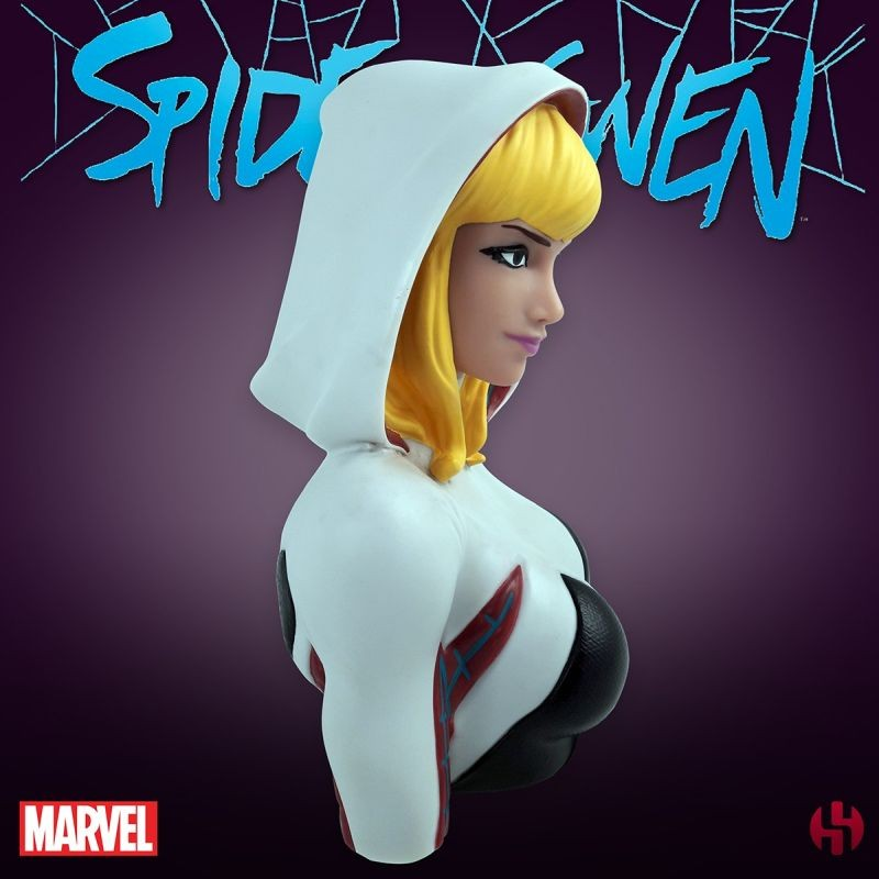 SEMIC SPIDER-GWEN DELUXE BUST BANK FIGURE