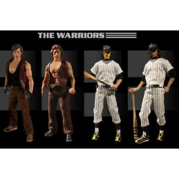 MEZCO TOYS THE WARRIORS BOX SET 4X ONE:12 COLLECTIVE ACTION FIGURE