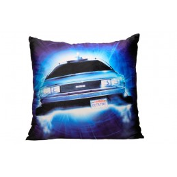 SD TOYS BACK TO THE FUTURE DELOREAN CUSHION PILLOW CUSCINO
